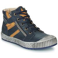 Boty Chlapecké Kotníkové boty Catimini RAMBOUTAN Modrá