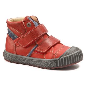 Boty Chlapecké Kotníkové boty Catimini RAIFORT červená - modrá