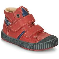 Boty Chlapecké Kotníkové boty Catimini RAIFORT Červená