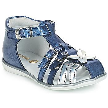Boty Dívčí Sandály GBB SHANICE Modrá