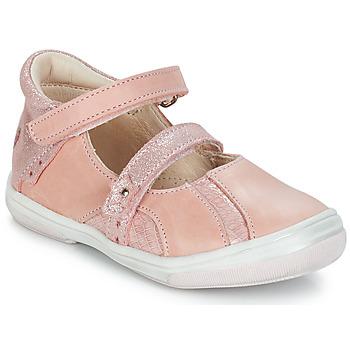 Boty Dívčí Sandály GBB SYBILLE Růžová