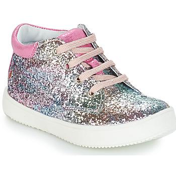 Boty Dívčí Kotníkové boty GBB SACHA Růžová