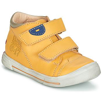 Boty Chlapecké Kotníkové boty GBB SAMY Žlutá