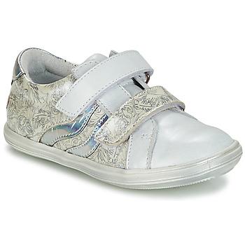 Boty Dívčí Kotníkové boty GBB SHEILA Bílá