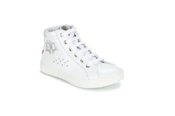 Boty Dívčí Kotníkové boty GBB SERAPHINE Bílá-stříbrná