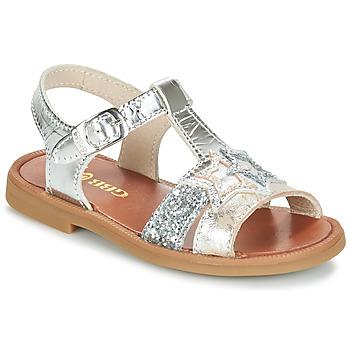Boty Dívčí Sandály GBB SHANTI Stříbrná