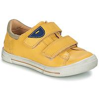 Boty Chlapecké Kotníkové boty GBB SEBASTIEN Žlutá