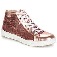 Boty Dívčí Kotníkové boty GBB IMELDA Růžová - zlatá