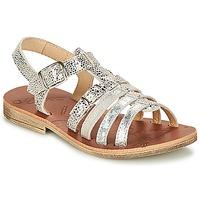 Boty Dívčí Sandály GBB BANGKOK Stříbřitá