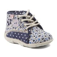 Boty Dívčí Papuče GBB PAT Modrá - květiny