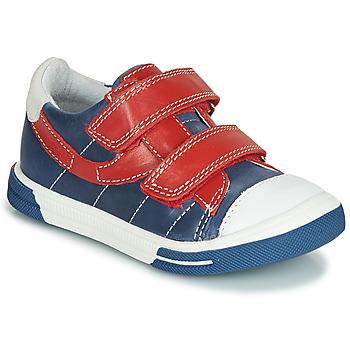 Boty Chlapecké Kotníkové boty Catimini SORBIER Tmavě modrá