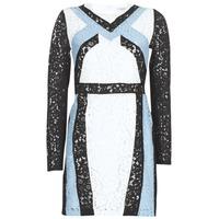 Textil Ženy Krátké šaty Morgan RLIXI černá / modrá / bílá