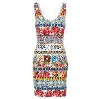 Textil Ženy Krátké šaty Desigual OCONDE Vícebarevná