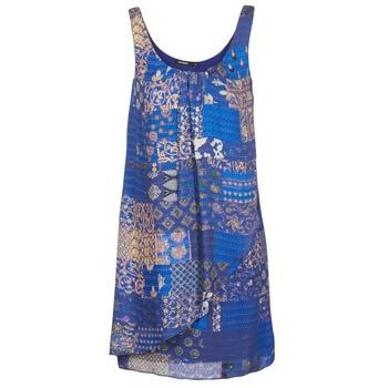 Desigual Krátké šaty OFFOELA - Modrá