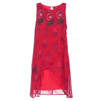 Textil Ženy Krátké šaty Desigual DORIJE Červená