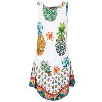 Textil Ženy Krátké šaty Desigual HOQLER Bílá