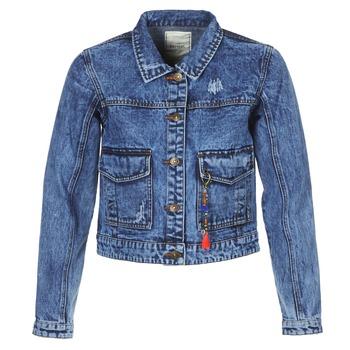 Textil Ženy Riflové bundy Kaporal BUCHE Modrá