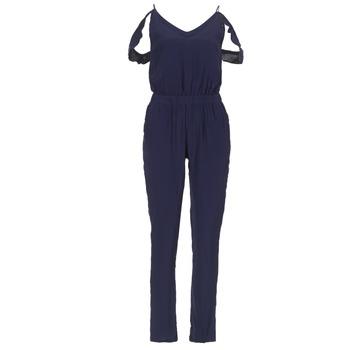 Textil Ženy Overaly / Kalhoty s laclem Kaporal MARCO Tmavě modrá