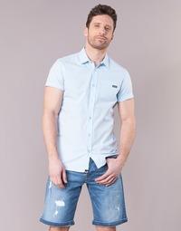 Textil Muži Košile s krátkými rukávy Kaporal LOGIK Modrá