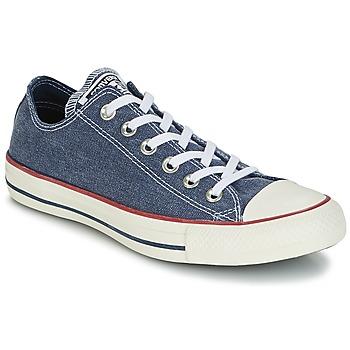 Boty Nízké tenisky Converse Chuck Taylor All Star Ox Stone Wash Tmavě modrá