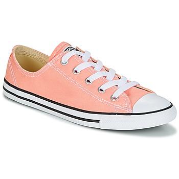 Boty Ženy Nízké tenisky Converse Chuck Taylor All Star Dainty Ox Canvas Color Růžová