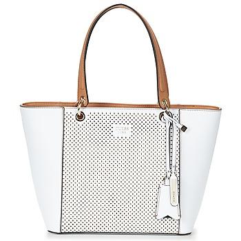 Taška Ženy Velké kabelky / Nákupní tašky Guess KAMRYN TOTE Bílá