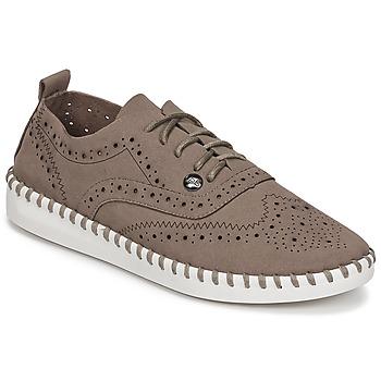 Boty Ženy Šněrovací polobotky  LPB Shoes DIVA Šedobéžová