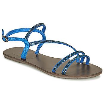 Boty Ženy Sandály LPB Shoes NELLY Modrá