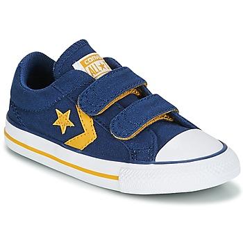 Boty Chlapecké Nízké tenisky Converse Star Player EV 2V Ox Sport Canvas Modrá
