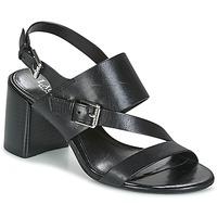 Boty Ženy Sandály Lauren Ralph Lauren FLORIN Černá