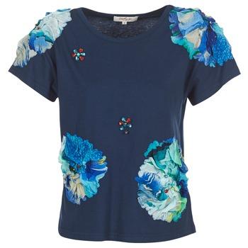 Textil Ženy Trička s krátkým rukávem Derhy BANGKOK Tmavě modrá
