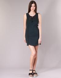 Textil Ženy Krátké šaty Banana Moon ELEANOR MAKENNA Černá