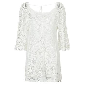 Textil Ženy Krátké šaty Banana Moon MAGBY DREAMLAND Bílá