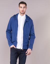 Textil Muži Větrovky Serge Blanco MONTREAL Modrá