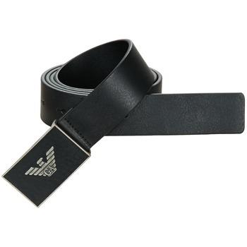 Textilní doplňky Muži Pásky Emporio Armani WALFAI POULTE Černá
