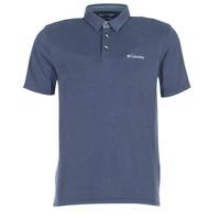 Textil Muži Polo s krátkými rukávy Columbia NELSON POINT POLO Tmavě modrá