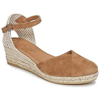 Boty Ženy Sandály Betty London INONO Velbloudí hnědá