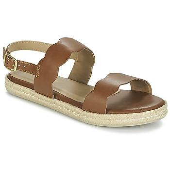 Boty Ženy Sandály Betty London IKARO Hnědá
