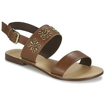 Boty Ženy Sandály Betty London IKIMI Hnědá