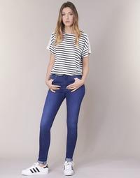 Textil Ženy Rifle skinny Pepe jeans REGENT Modrá