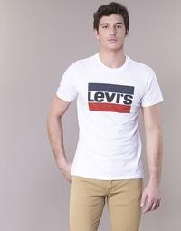 Textil Muži Trička s krátkým rukávem Levi's GRAPHIC SPORTSWEAR LOGO Bílá / Modrá / Červená