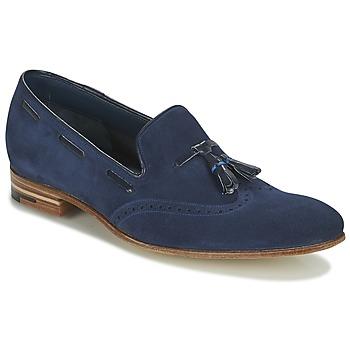 Boty Muži Mokasíny Barker RAY Tmavě modrá