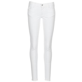 Textil Ženy Kapsáčové kalhoty Le Temps des Cerises 316 Bílá