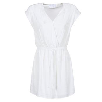 Textil Ženy Krátké šaty Le Temps des Cerises FORKATON Bílá