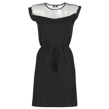 Textil Ženy Krátké šaty Le Temps des Cerises JURIETO Černá