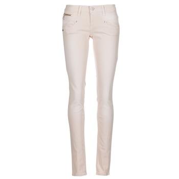 Textil Ženy Kapsáčové kalhoty Freeman T.Porter ALEXA SLIM MAGIC COLOR Růžová