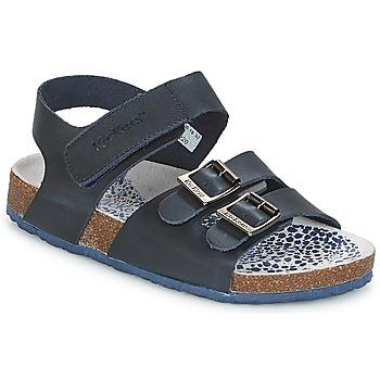 Boty Chlapecké Sandály Kickers MAGINATION Tmavě modrá