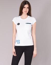 Textil Ženy Trička s krátkým rukávem Philipp Plein Sport SITTIN OVER HERE Bílá