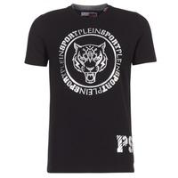 Textil Muži Trička s krátkým rukávem Philipp Plein Sport IVAN Černá / Stříbrná