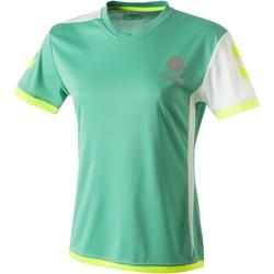 Textil Ženy Trička s krátkým rukávem Hummel Maillot Femme  Trophy vert/blanc